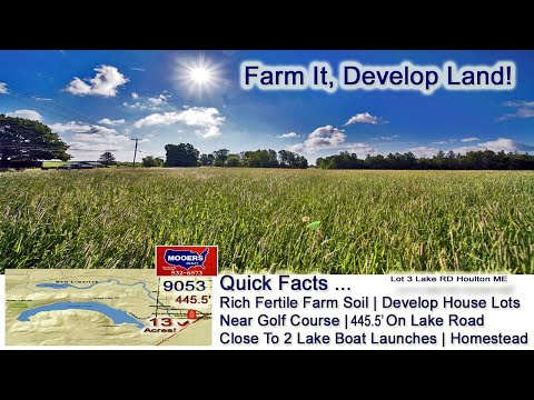 Maine Land For Sale | 13 Acres Of ME Real Estate MOOERS REALTY 9053