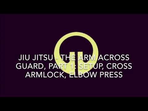 Jiu Jitsu Training in Austin Texas: Arm Across Guard Part 1