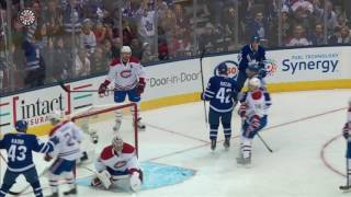 Marner's no-look touch pass is perfect for Bozak