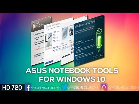 Asus Notebook Tools for Windows 10 | Problems Solutions