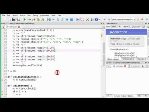 Python-Programm, das die Zeit zum Bedienen misst
