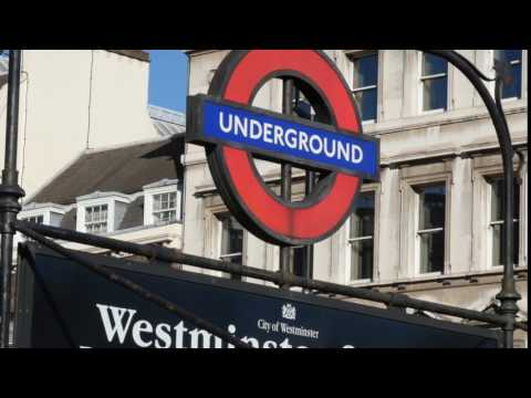 Westminster underground station - 4K ROYALTY FREE VIDEO