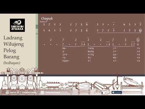 Latihan Gerong: [11] Ladrang Wilujeng Bedhayan Pelog Barang