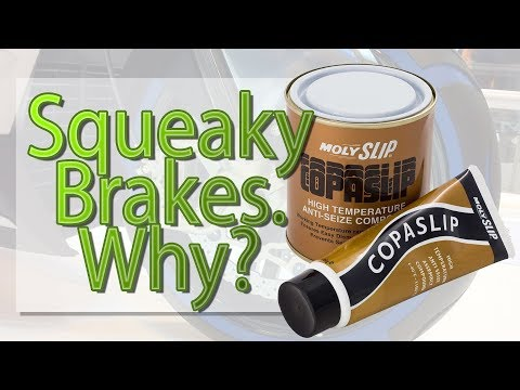 Squeaky brakes. why?