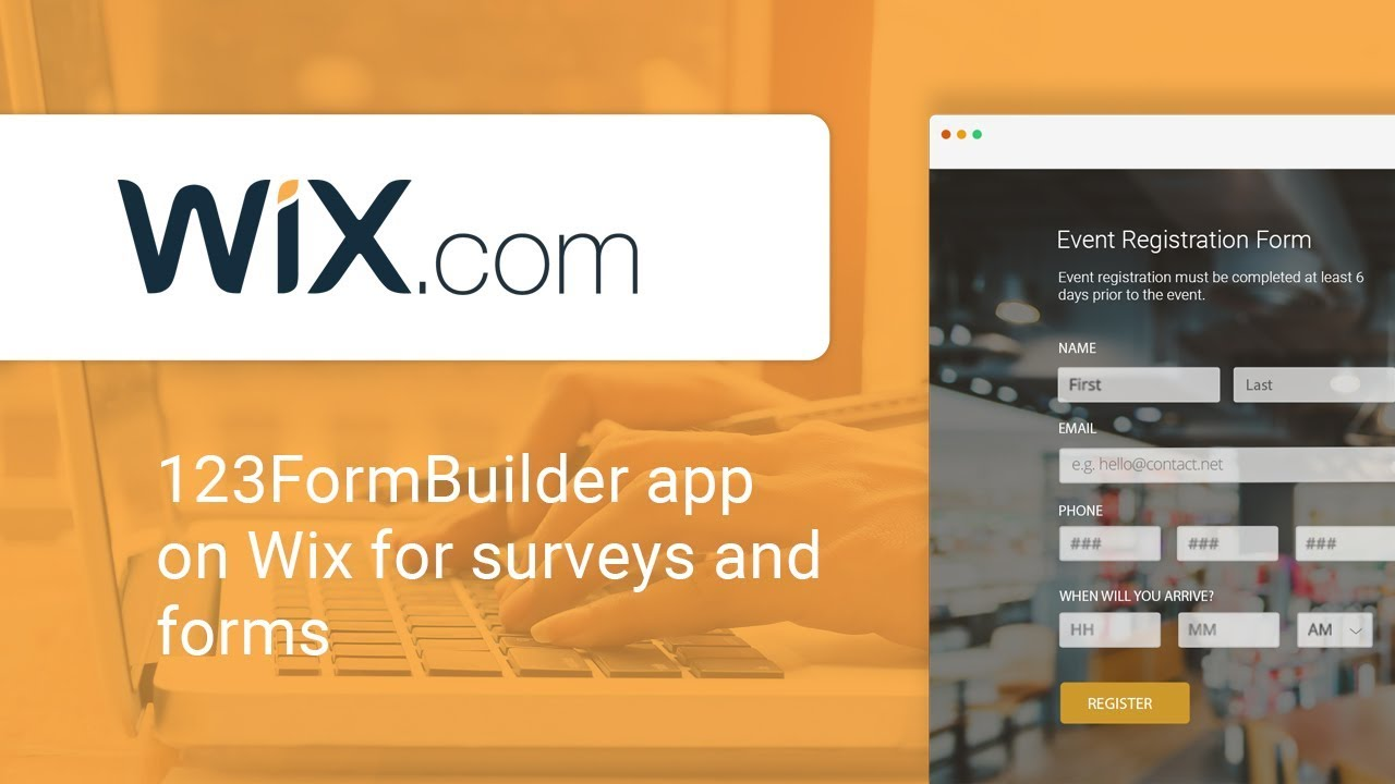 Einrichten Design App How To Use The 123formbuilder App For Wix