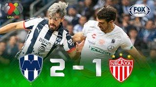 Monterrey_-_Necaxa_[2-1]_|_GOLES_|_Semifinal_(Ida)_|_Liga_MX