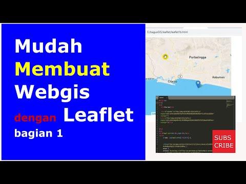 Tutorial WEBGIS Menggunakan Leaflet JS [VIDEO]