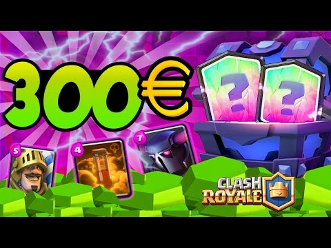 Clash Royale EPIC PACK OPENING 43'000 GEMMES (SUPER MAGICAL CHEST) !