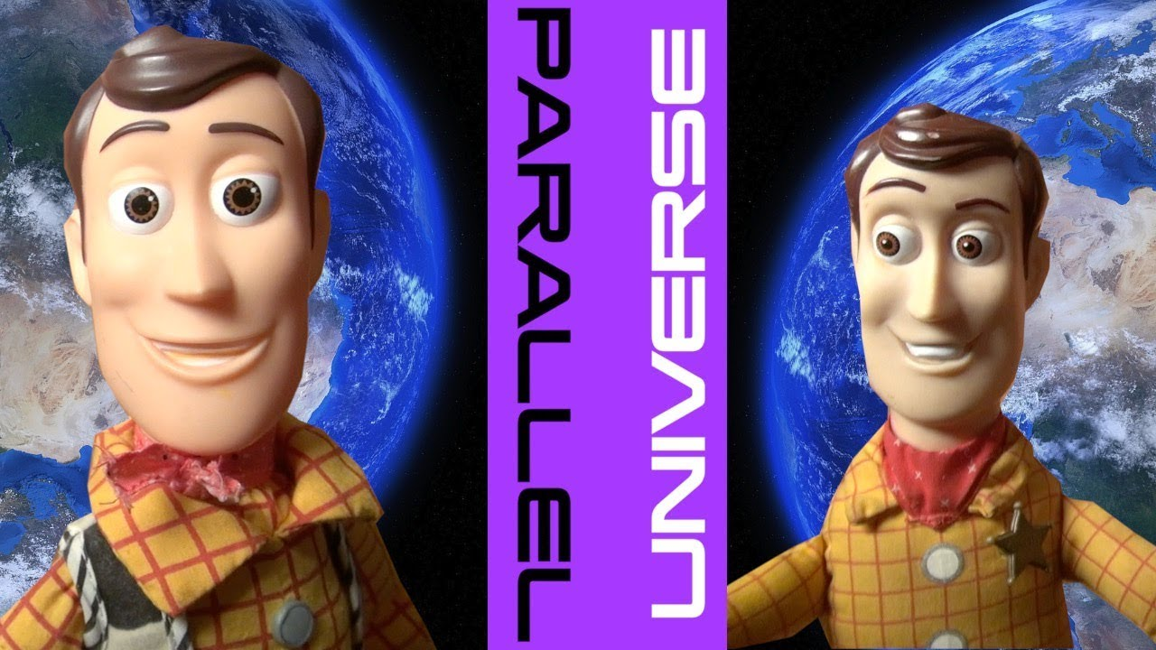 Toy Story 4 Parallel Universe **STUNNING** Woody Buzz Lightyear