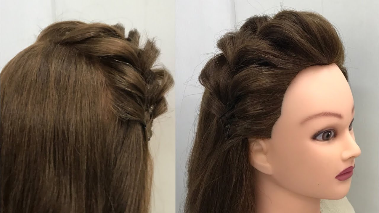 Two Ways to Style Front Hair : Easy Everyday Hairstyles