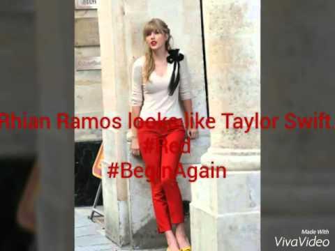Rhian Ramos looks like Taylor Swift