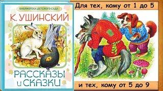 Умей обождать. Волк и собака. - 1-я часть книги. (Сказки К. Ушинского) - читает бабушка Лида