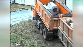 Fail Life-Epic Truck Unloading Fail 2016