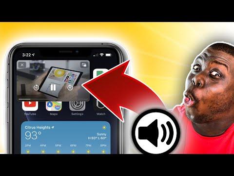 Écouter YouTube En Arrière Plan avec l'écran verrouillé Iphone (iOs 14 Pip) et Android