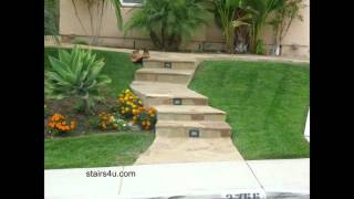 Problems With Exterior Stair Riser Lights - Landscaping Design