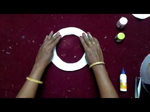 சாட் பேப்பர் இருந்தால் போதும் குட்டி ஸ்//DIY- Easy chart  paper work for kids//DIY- Paper craft idea
