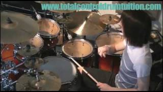 Total Control Drum Tuition: Metal - The Skank Beat
