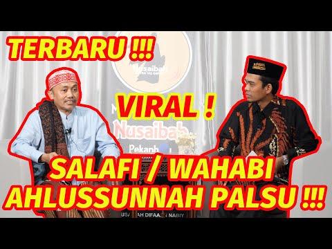 tanya-jawab-seru-ustadz-abdul-somad-bersama-k.h-idrus-ramli---salafi/wahabi-ahlussunnah-palsu-!!!