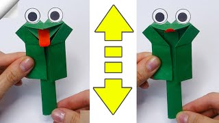 Crazy Frog | Moving paper TOYS | Easy paper crafts for kids
