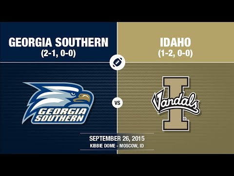 2015 Week 4 - Georgia Southern at Idaho