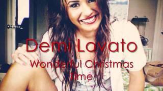 Demi Lovato-Wonderful Christmas Time + LYRICS