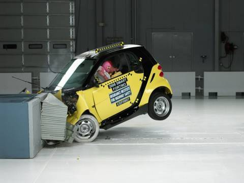 2008 Smart Fortwo Moderate Overlap Iihs Crash Test