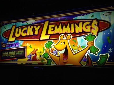 lucky lemmings free online slots