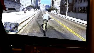 Bike gets hit my car