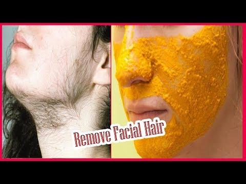 चेहरे के अनचाहे बाल हटाने के लिए हल्दी का फेस पैक - Remove Facial Hair in 10 Minutes thumbnail