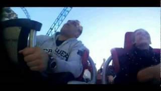 Jaga & Zocha Blue Fire Megacoaster Ride- Europapark