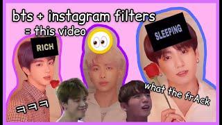 Gambar cover Instagram Filters ft. BTS