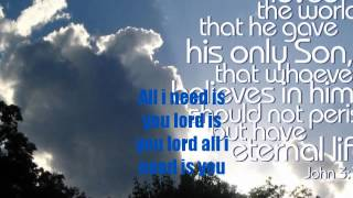 all i need is you lord from adie