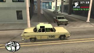 Коды на GTA San Andreas Bloodring Banger CQZIJMB