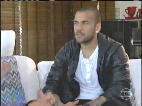 Daniel Alves - Na Estrada com Galvão Esporte Espetacular