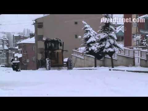 Sarıkamış'ta kar yağışı   KARS