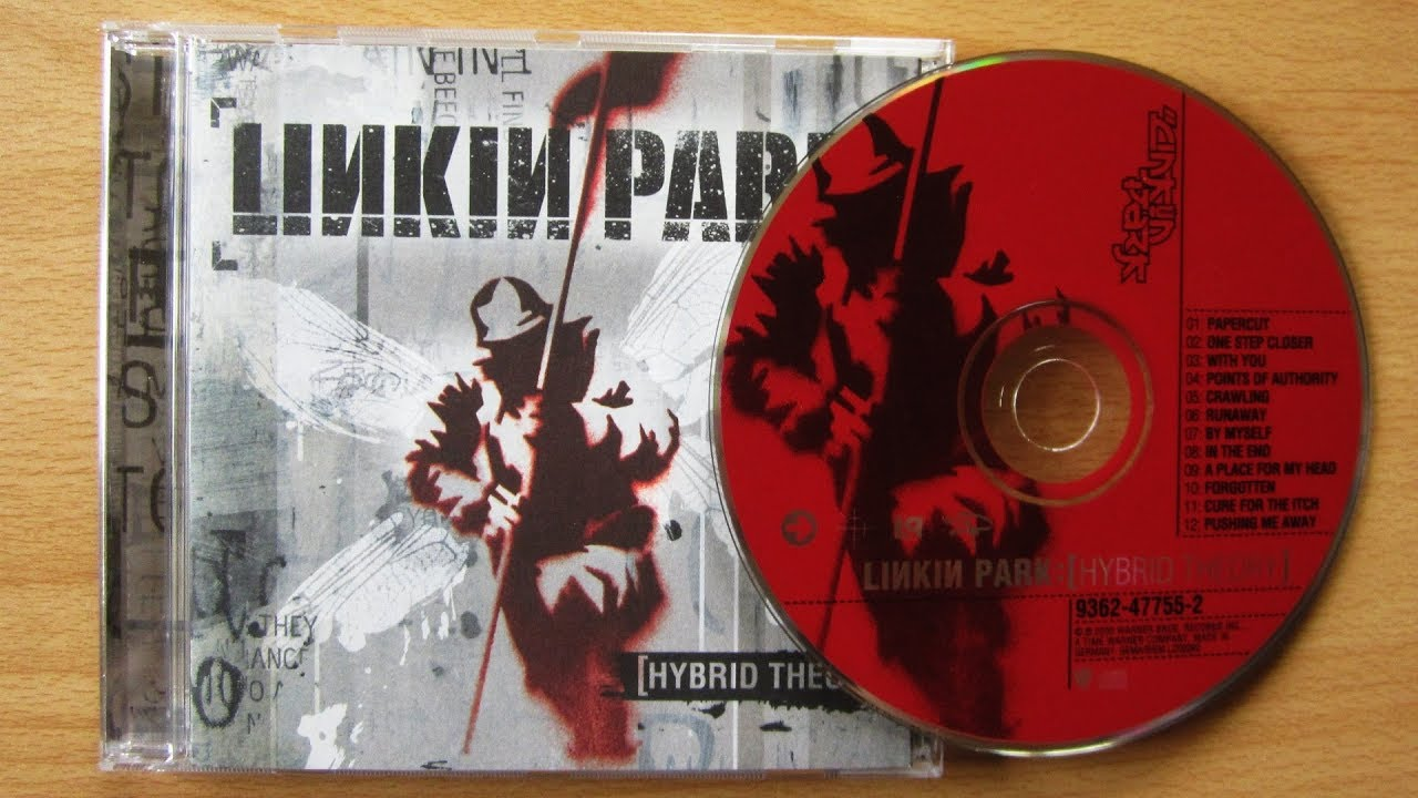 Linkin Park Hybrid Theory Unboxing Cd