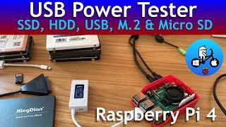 Usb power tester  Raspberry Pi Storage Devices