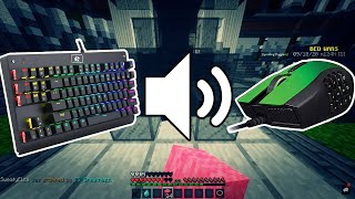 keyboard and mouse sounds | Hypixel Bedwars | Z7PLAY