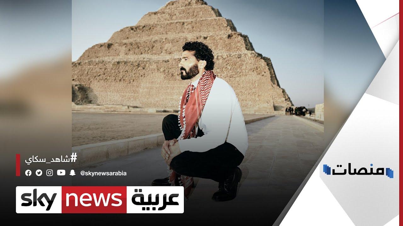حقيقة الوضع الصحي للفنان خالد النبوي |#منصات  - 17:58-2021 / 4 / 10