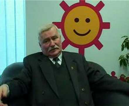 Lech Wałęsa o blogu MojaGeneracja.pl