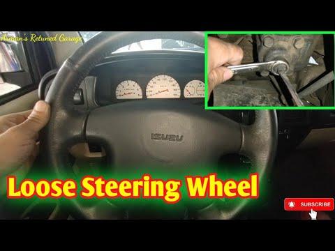 How to Fix Loose Steering Wheel? Isuzu Crosswind