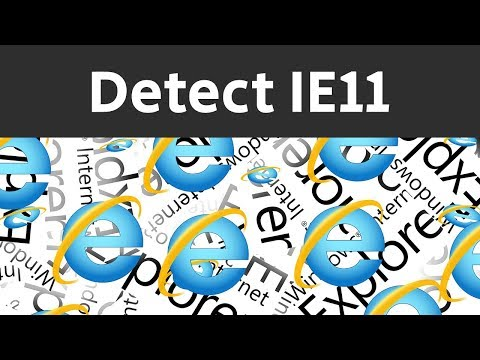 How To Detect IE11 Browser In JavaScript