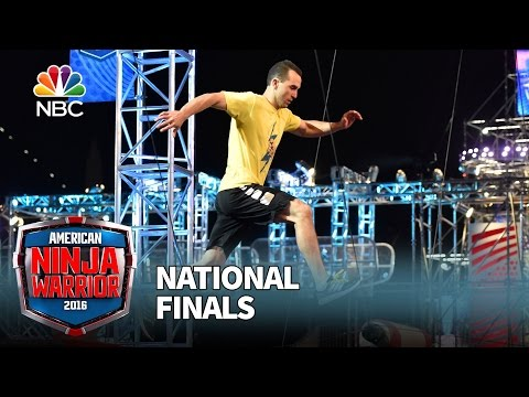 Joe Moravsky at the National Finals: Stage 1 - American Ninja Warrior 2016