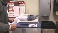 How to Make a Photocopy in the Main Office