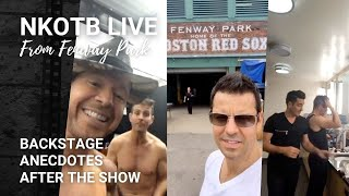 NKOTB live from Fenway Park (7/08/17)