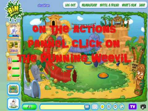 Binweevil Surprise Cheats Glitches: Glitch 2 (Tycoon Island Big Weevil)