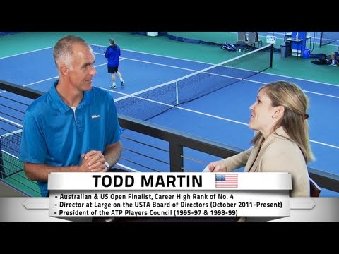 Todd Martin Talks Djokovic, Prize Money, Doping, and More