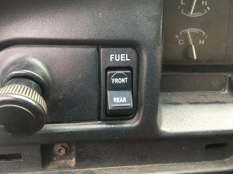 Dual Fuel Tank Selector Switch Replacement F150