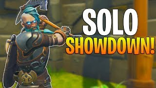 PLAYING FOR 50,000 VBUCKS! INSANE FORTNITE SOLO SHOWDOWN GAMEMODE RETURNS!