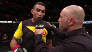 UFC 203: Fabricio Werdum Octagon Interview